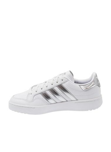 adidas Kadın Team Court Sneakers 272439 Beyaz